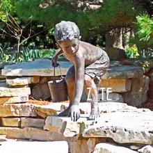 31 Garden-outdoor-decorative-bronze-boy-