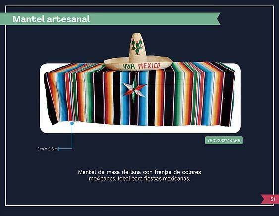 38 MANTEL ARTESANAL