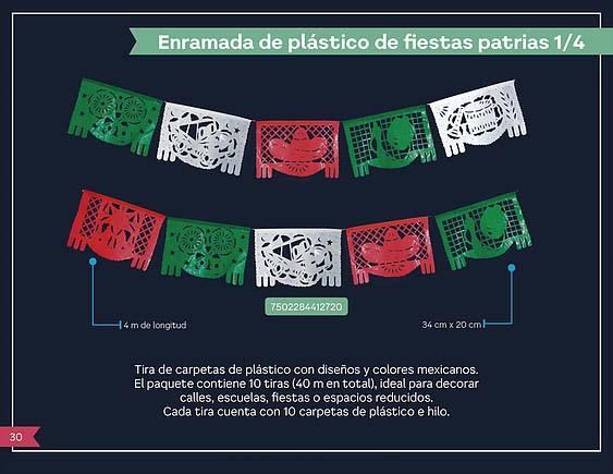 2 ENRAMADA DE PLASTICO DE FIESTAS