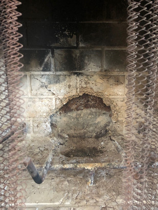 Fireplace deterioration