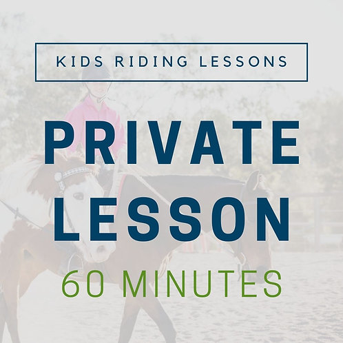 Kids Private Lesson (60min)