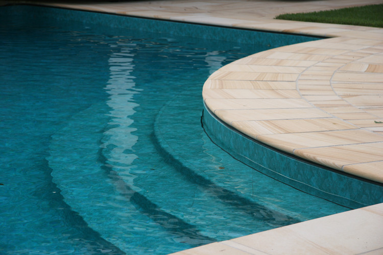 Award winning pool in Brookfield, Brisbane