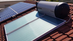 We can supply, install and repair solar hot water systems.