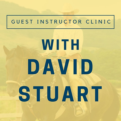 Guest Instructor Clinic with David Stuart