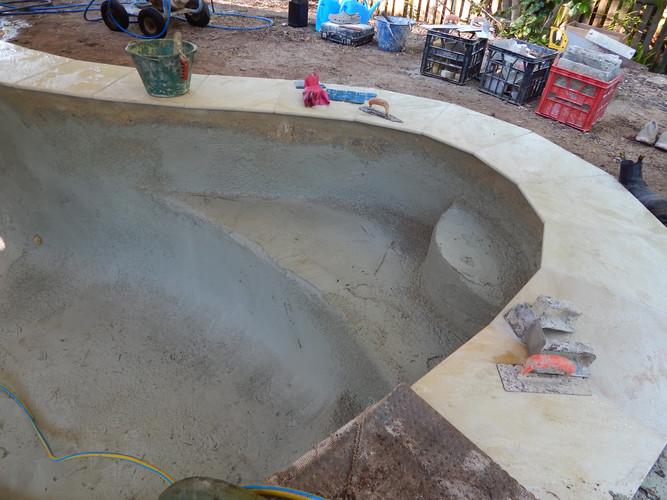 Kenmore flooded pool making progress