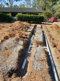 Ferugson Walker Services in-ground residential plumbing