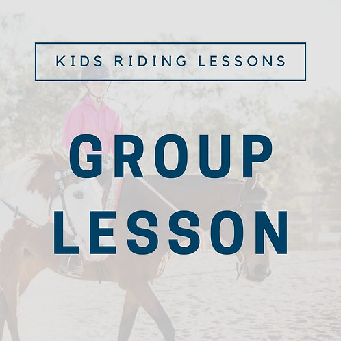Kids Group Lesson