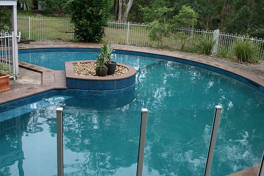 Finished vinyl liner installation in Anstead, Brisbane