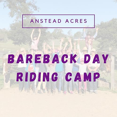Bareback Day Riding Camp