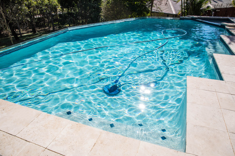 Photo of a recently renovated pool in Brisbane.