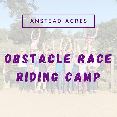 Obstacle Race Riding Camp