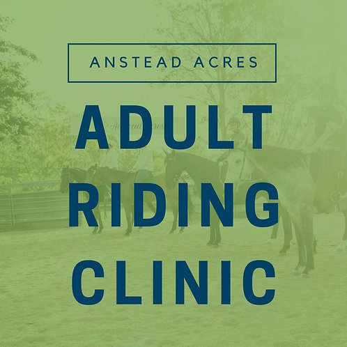 Adult Riding Clinic