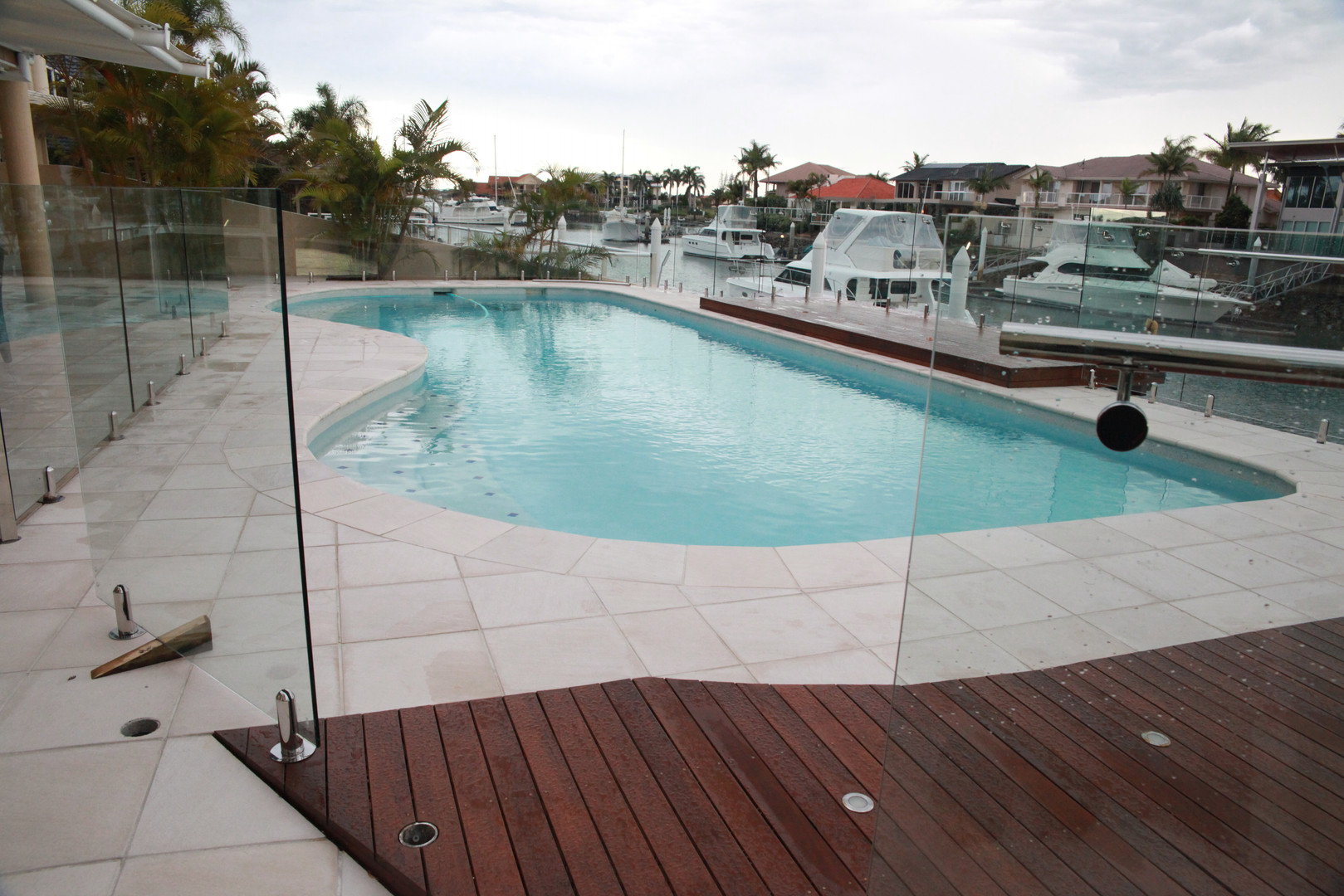 Raby Bay award winning pool project complete!