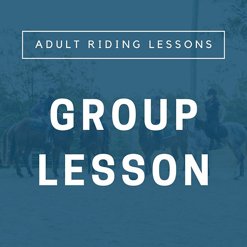 Adult Group Lesson