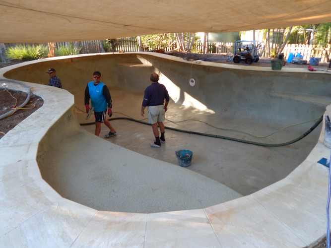 Kenmore flooded pool project nearly complete!