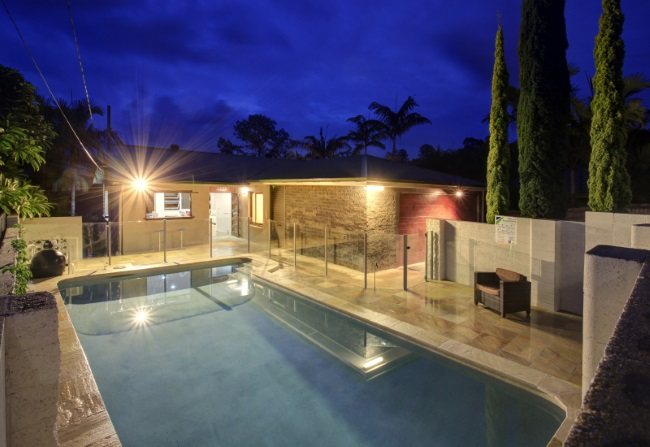 Award winning pool Kenmore, Brisbane