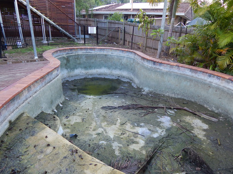 Kenmore flooded pool project underway
