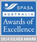 2014 SPASA Australia SILVER Award