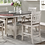 Thumbnail: IN STOCK NEW_42X60 Oval Counter Height Dining Table & 4 Chair w/ Removable Leaf.