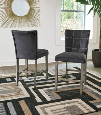 """IN STOCK NEW_UPHOLSTERED COUNTER HEIGH DINING CHAIR STOOL """"PRICE PAIR OF 2"""""""