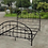 Thumbnail: IN STOCK NEW_MAYWOOD METAL IRON CAL KING BED ONLY/  BOX SPRING REQUIRED