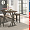 Thumbnail: IN STOCK NEW_3PCS SOLID WOOD DINING TABLE AND 2 WOOD CHAIRS STOOLS