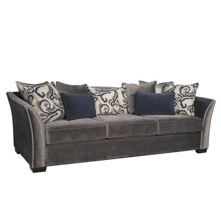 IN STOCK_KYLE SOFA WITH NAIL HEAD ACCENT USA MADE