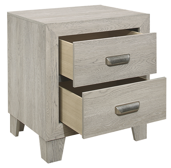 IN STOCK MODERN STYLE NATURAL LOOK NIGHTSTAND ONLY