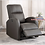 Thumbnail: IN STOCK NEW_BROWN CONTEMPORARY POWER RECLINER CHAIR FOR SOFA LIVING ROOM
