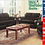 Thumbnail: IN STOCK NEW_2PCS UPHOLSTERED CORDUROY CHOCOLATE SOFA AND LOVESEAT.