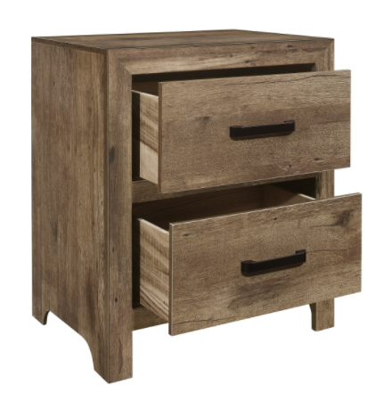IN STOCK NEW_WEATHERED PINE NIGHTSTAND ONLY.