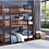 Thumbnail: IN STOCK NEW_TWIN BED, TWIN CHERRY TRIPLE BUNK BED ONLY.