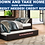 Thumbnail: IN STOCK NEW_DARK BROWN DAYBED WITH TRUNDLE INCLUDED.