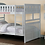 Thumbnail: IN STOCK NEW_TWIN/TWIN BUNK BED IN CHERRY FINISH.
