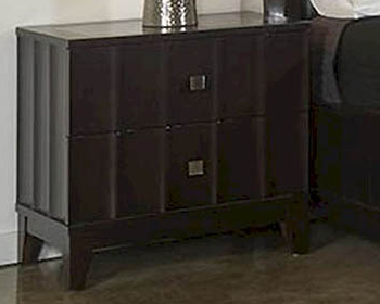 IN STOCK CHOCOLATE DELANO NIGHTSTAND ONLY