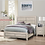 Thumbnail: IN STOCK NEW_MODERN CONTEMPORARY QUEEN BED,DRESSER,MIRROR,NIGHTSTAND.