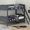 Thumbnail: IN STOCK NEW_WOOD GRAY TWIN/TWIN YOUTH BUNK BED ONLY.
