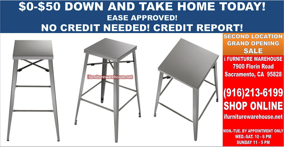 """STAINLESS BARSTOOL 30"""" SOLD IN PAIR ONLY"""