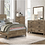 Thumbnail: IN STOCK NEW_WEATHERED PINE FINISH QUEEN BED ONLY/ BOX SPRING REQUIRED