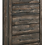 Thumbnail: IN STOCK NEW_LATTE WEATHERED DARK BROWN TALL CHEST.