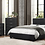Thumbnail: IN STOCK_NEW Black Cal King Bed only. Platform Bed. No Box Needed.