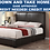 Thumbnail: IN STOCK NEW_DARK BROWN CAL KING BED ONLY