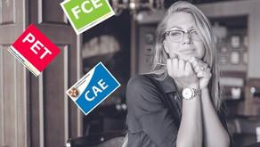 ¿Cómo aprobar los exámenes de Cambridge? (PET, FIRST Y CAE) :