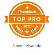 Thumbtack Top Pro, Thumbtack makeup artist
