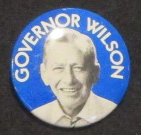 Malcolm Wilson button, 1974