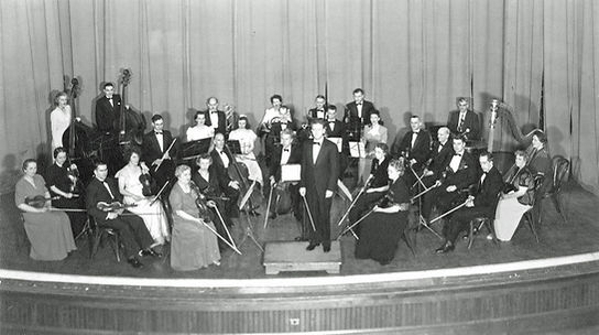 Elmira Symphony Orchestra, 1943 (600 dpi