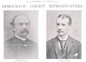 Portraits of popular Democratic County representatives, 1893