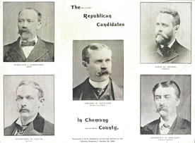 Portraits of the Republican Candidates in  Chemung County, 1894