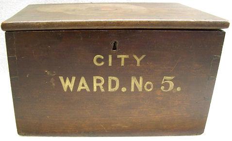 Ballot Box Ward 5, Elmira