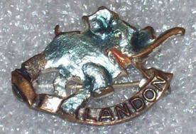 Alf Landon pin, 1936